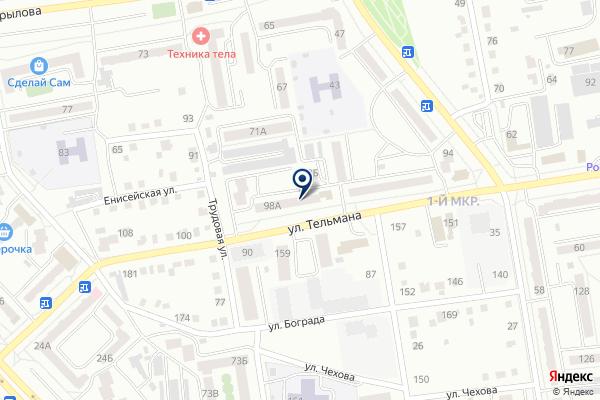 «Гранд Надежности» на карте