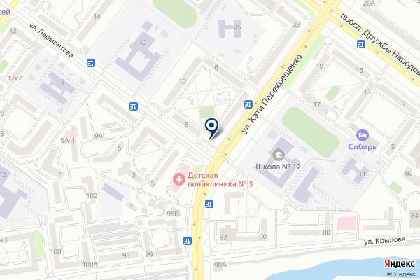 «Ломбард Империал» на карте