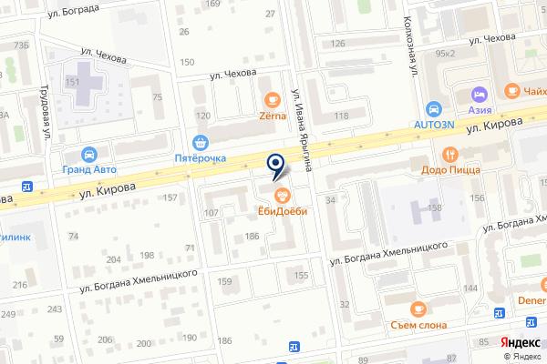 «СОГАЗ» на карте