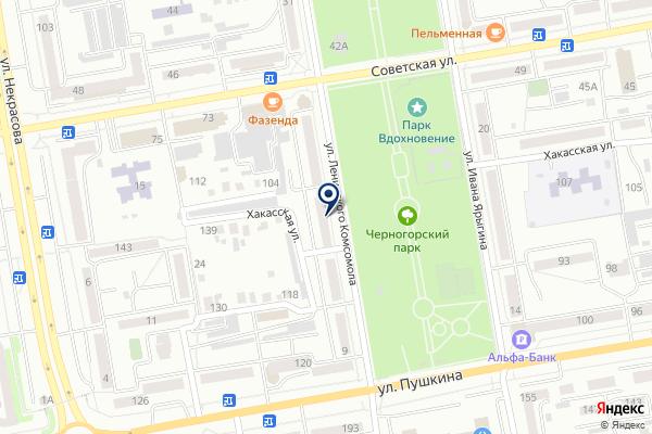 «Ломбард №1» на карте