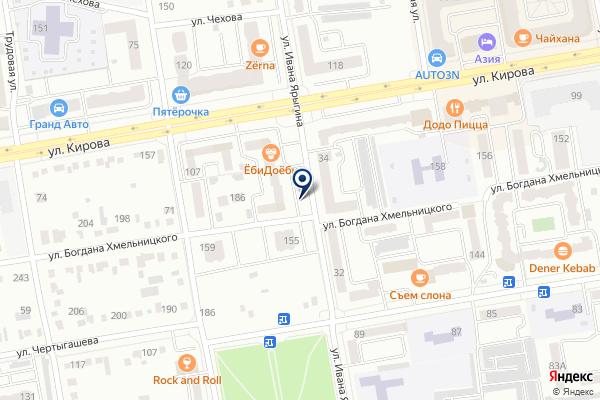 «АЯС» на карте