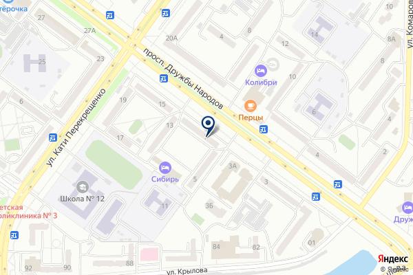 «СТИС» на карте