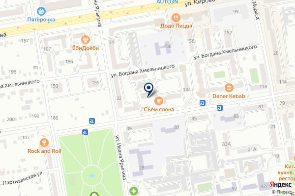 «Адвокатский кабинет Ким В.С.» на карте