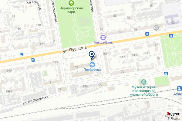 «Росбанк» на карте