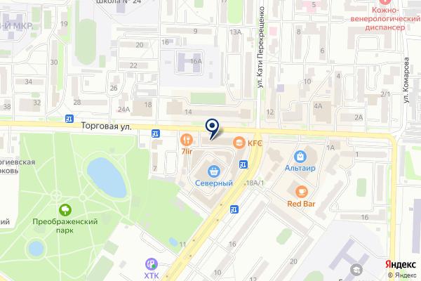 «РосДеньги» на карте