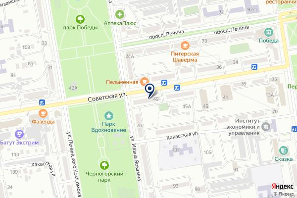 «ЭКОС» на карте