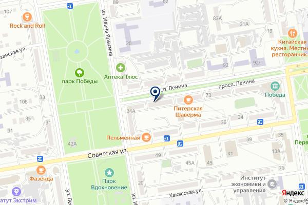 «Альфа-банк» на карте