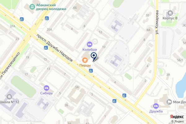 «ФинансИнвест» на карте