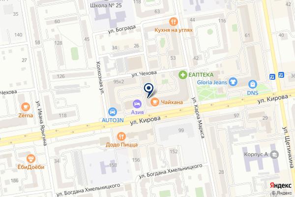 «Юрист и Бизнес» на карте