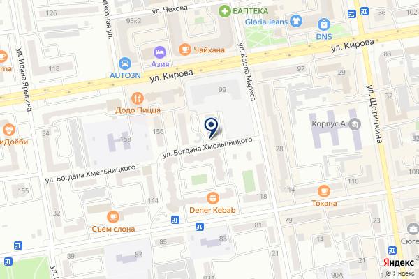 «Бизнес-партнер» на карте