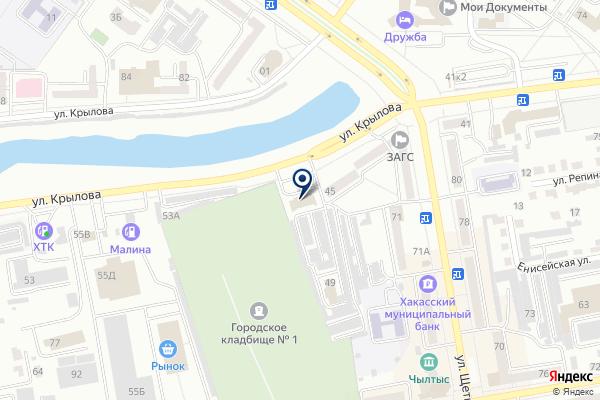 «БизнесФорм» на карте