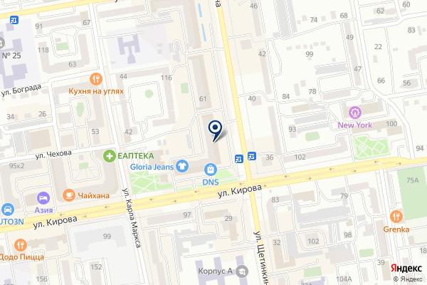 «Хакасский депозитарий» на карте