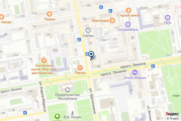 «ОЦЕНИ» на карте