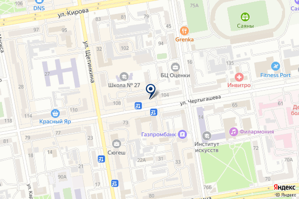 «Адвокатский кабинет Рубцовой Е.П.» на карте