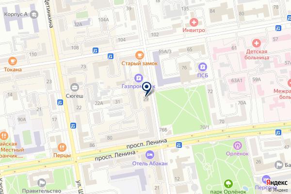 «Юр-Статус» на карте