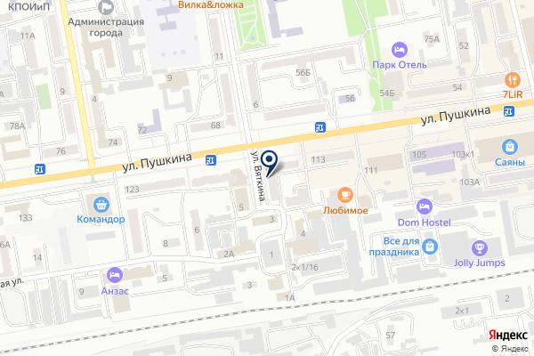 «ПРОФИС» на карте