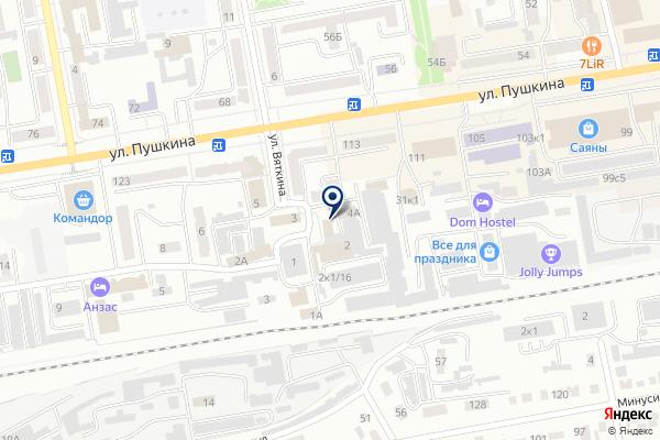«Деньги на дом» на карте
