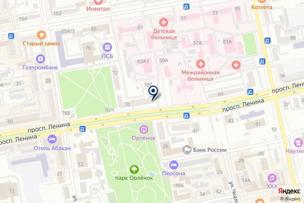 «ДелоБанк» на карте