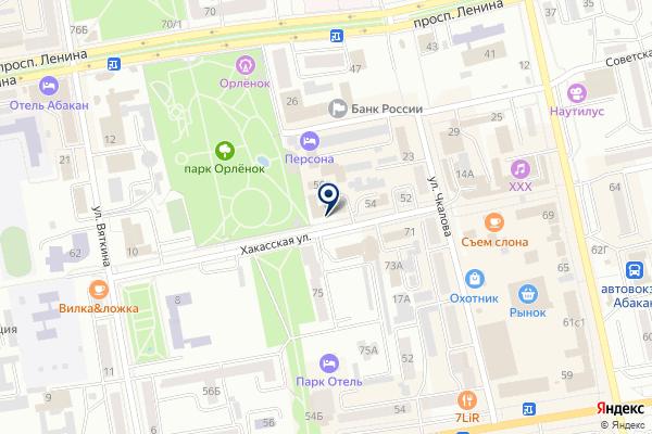 «Юридическая компания» на карте