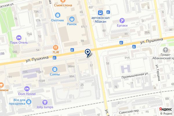 «СОВЕТ» на карте
