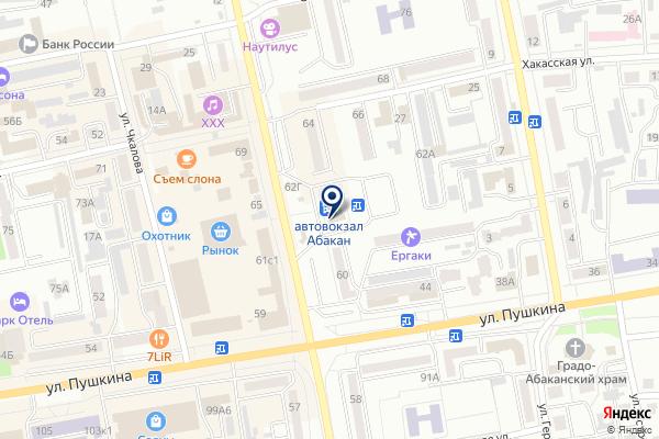 «Финтерра» на карте