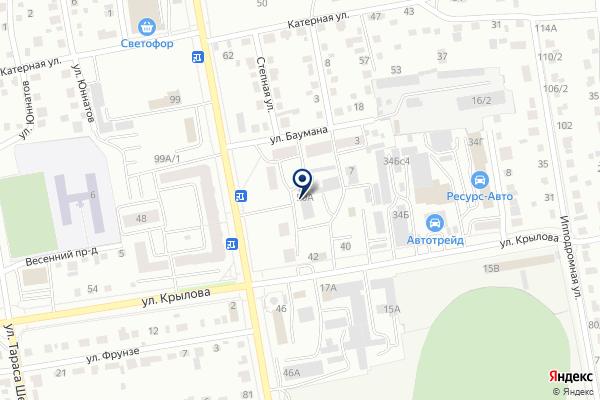 «Адвокатский кабинет Горева И.С.» на карте