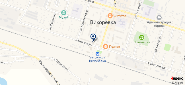 Магазин бытовой техники на карте
