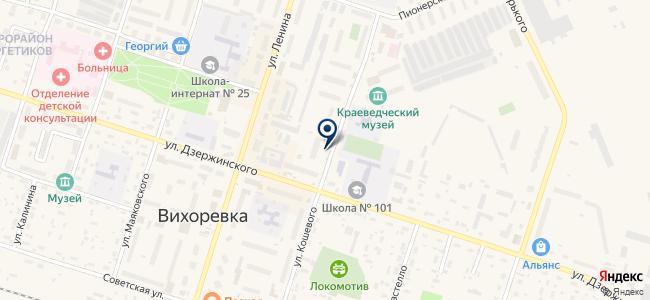 Электроцентр на карте