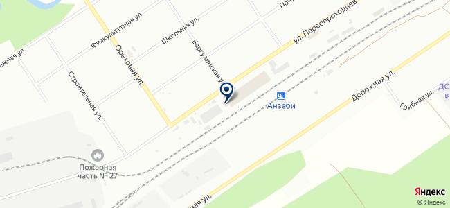 SIB-SVET на карте