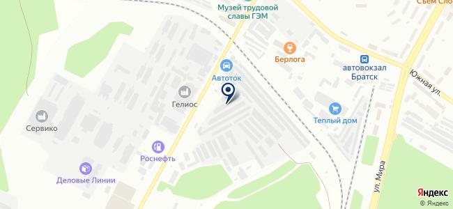 VoltAuto на карте