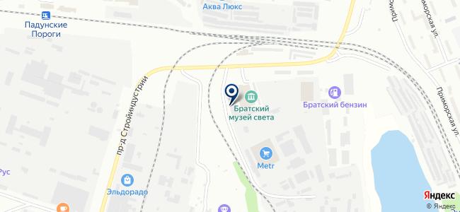 Континент, ООО на карте