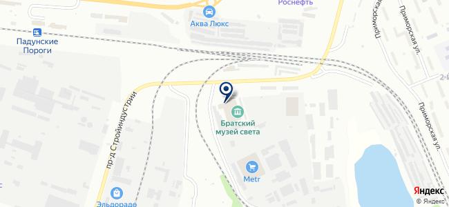 Мастерская натяжных потолков на карте