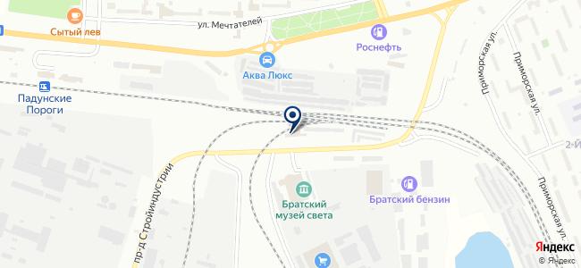 Сава на карте