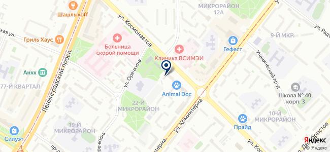 Потолкофф, ООО на карте