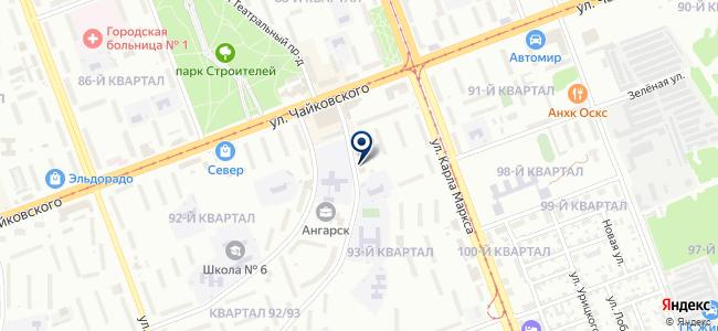 ХладоСервис-Ангарск на карте