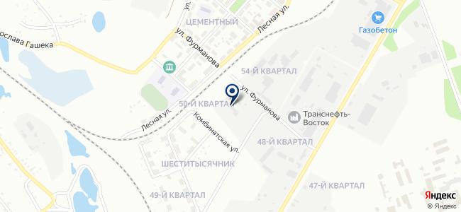 БайкалКранСервис, ООО на карте