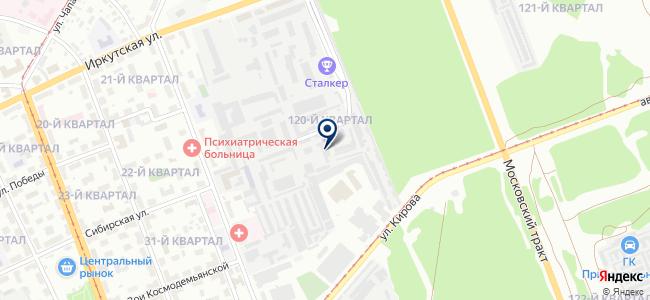 Сибмонтажавтоматика, ООО на карте