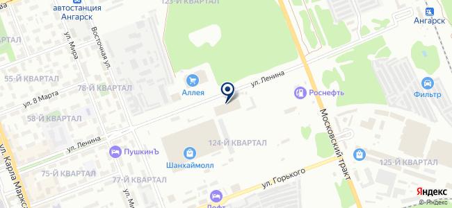 ГОРОД ОГНЕЙ на карте