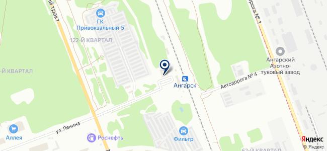 Эспос на карте