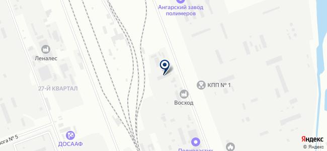 Гефест, ООО на карте