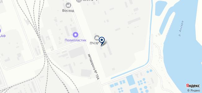 ЭВАЛИС, ЗАО на карте