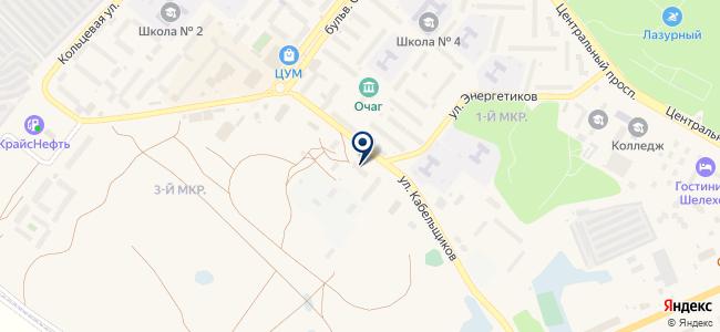 Премьер-М на карте