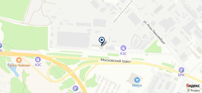 Термекс-Байкал, ООО на карте