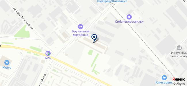 Юнтекс на карте