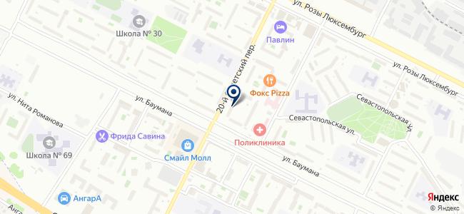 Сибирская Сетевая Компания, ООО на карте