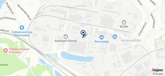 Азия-Авто на карте