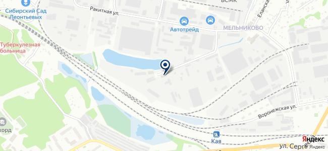 ЭСКО, ЗАО на карте