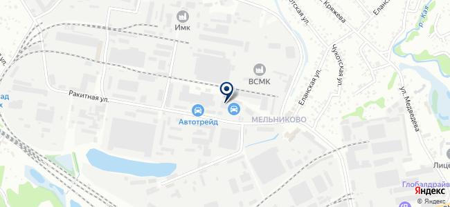 Деркач Е.В., ИП на карте