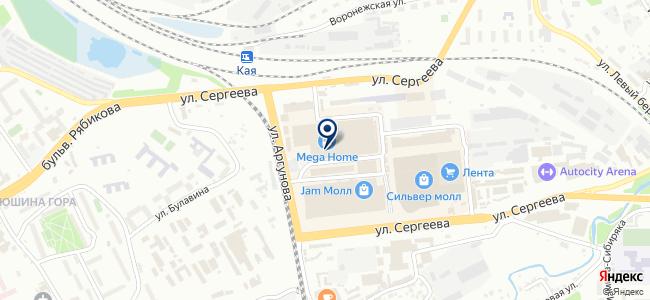 Эстом на карте