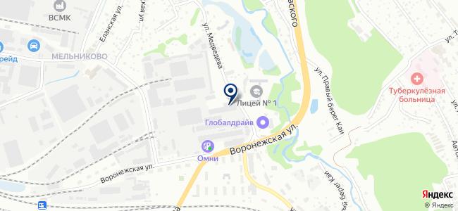 Транс-Атом, ООО на карте